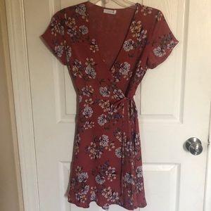 Dresses & Skirts - Lush wrap dress